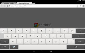 Sony Xperia Tablet Z2 LTE - Internet et roaming de données - Navigation sur Internet - Étape 6