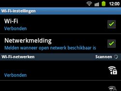 Samsung B5510 Galaxy TXT - Wifi - handmatig instellen - Stap 9