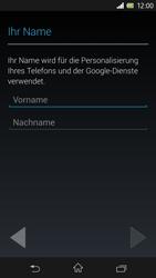 Sony Xperia Z - Apps - Einrichten des App Stores - Schritt 5