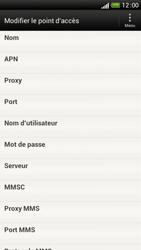 HTC One S - Internet et roaming de données - Configuration manuelle - Étape 11