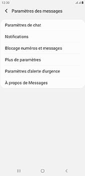 Samsung Galaxy J6 Plus - SMS - configuration manuelle - Étape 6