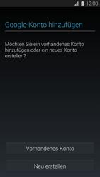 Samsung Galaxy S5 - Apps - Konto anlegen und einrichten - 0 / 0
