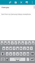Samsung G850F Galaxy Alpha - E-mail - Sending emails - Step 10