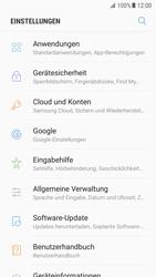 Samsung Galaxy S7 - Android N - Gerät - Zurücksetzen auf die Werkseinstellungen - Schritt 4