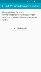 Samsung Galaxy S6 Edge - Fehlerbehebung - Handy zurücksetzen - 9 / 11