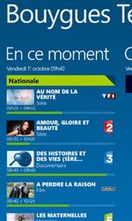 Nokia Lumia 625 - Photos, vidéos, musique - Regarder la TV - Étape 4