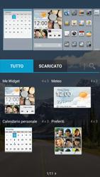 Huawei Ascend G526 - Operazioni iniziali - Installazione di widget e applicazioni nella schermata iniziale - Fase 7