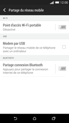 HTC One (M8) - Internet et connexion - Partager votre connexion en Wi-Fi - Étape 6