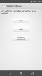 Sony D5103 Xperia T3 - E-Mail - Konto einrichten - Schritt 7