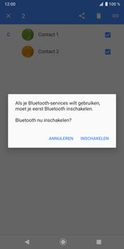 Sony Xperia XZ3 - Contactgegevens overzetten - delen via Bluetooth - Stap 8