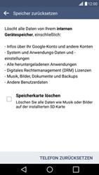 LG G4c - Fehlerbehebung - Handy zurücksetzen - 9 / 12