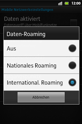Sony Xperia Go - Ausland - Auslandskosten vermeiden - 9 / 9