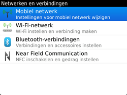 BlackBerry 9900 Bold Touch - netwerk en bereik - gebruik in binnen- en buitenland - stap 5