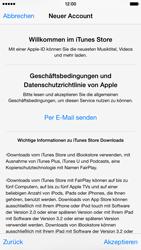 Apple iPhone 6 iOS 8 - Apps - Einrichten des App Stores - Schritt 11