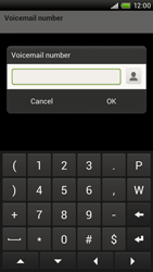 HTC S720e One X - Voicemail - Manual configuration - Step 7
