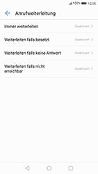 Huawei P10 - Anrufe - Rufumleitungen setzen und löschen - 6 / 9