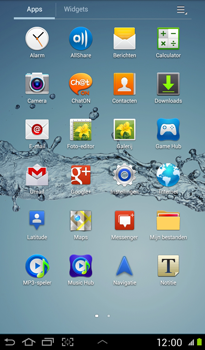 Samsung P3100 Galaxy Tab 2 7-0 - E-mail - Handmatig instellen - Stap 4