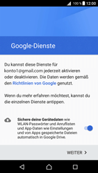 Sony Xperia Z5 Compact (E5823) - Android Nougat - E-Mail - Konto einrichten (gmail) - Schritt 14