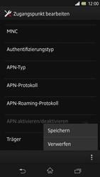 Sony Xperia Z - Internet - Manuelle Konfiguration - Schritt 17