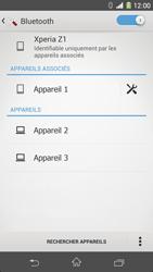 Sony Xperia Z1 - Bluetooth - Jumelage d