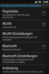 Sony Xperia Go - WLAN - Manuelle Konfiguration - Schritt 5