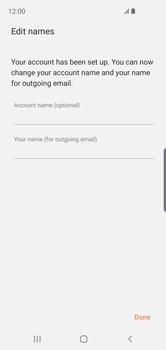 Samsung Galaxy S10e - E-mail - Manual configuration - Step 20