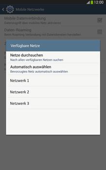 Samsung Galaxy Tab 3 8-0 LTE - Netzwerk - Manuelle Netzwerkwahl - Schritt 8