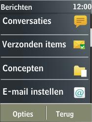 Nokia X3-02 - E-mail - handmatig instellen - Stap 4