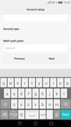 Huawei Huawei P9 Lite - E-mail - Manual configuration - Step 14