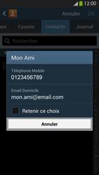 Samsung Galaxy S4 - Contact, Appels, SMS/MMS - Envoyer un SMS - Étape 7