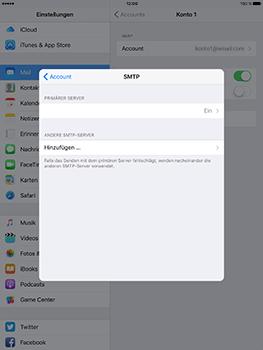 Apple iPad Mini 4 - E-Mail - Konto einrichten - 23 / 32