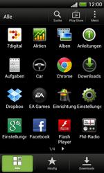 HTC One SV - Fehlerbehebung - Handy zurücksetzen - 1 / 1