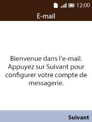 Alcatel 3088X - E-mails - Ajouter ou modifier votre compte Yahoo - Étape 4