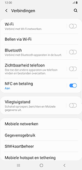 Samsung galaxy-note-8-sm-n950f-android-pie - WiFi - Mobiele hotspot instellen - Stap 5