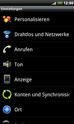 HTC Desire - Anrufe - Rufumleitungen setzen und löschen - 0 / 0