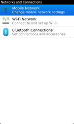 BlackBerry 9860 Torch - Internet - Usage across the border - Step 5