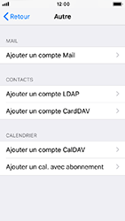 Apple iPhone 5s - iOS 12 - E-mail - Configuration manuelle - Étape 7
