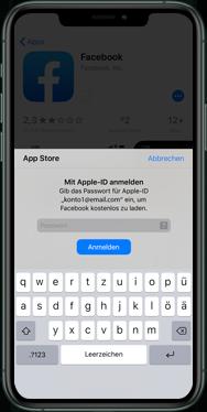 Apple iPhone XS - iOS 13 - Apps - Einrichten des App Stores - Schritt 25