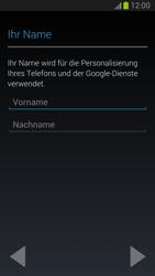 Samsung Galaxy Note 2 - Apps - Konto anlegen und einrichten - 5 / 15
