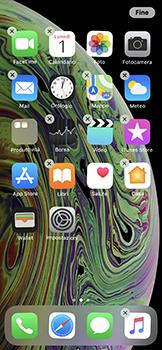 Apple iPhone XS - Operazioni iniziali - Personalizzazione della schermata iniziale - Fase 5