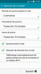 Samsung A500FU Galaxy A5 - E-mail - Configuration manuelle - Étape 17
