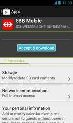 ZTE Blade III - Applications - Installing applications - Step 21