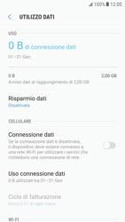 Samsung Galaxy S6 - Android Nougat - Internet e roaming dati - Come verificare se la connessione dati è abilitata - Fase 6
