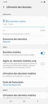 Samsung Galaxy A50 - Internet et roaming de données - Comment vérifier que la connexion des données est activée - Étape 7