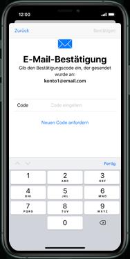 Apple iPhone XS - iOS 13 - Apps - Einrichten des App Stores - Schritt 20