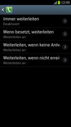 Samsung I9300 Galaxy S III - Anrufe - Rufumleitungen setzen und löschen - Schritt 7