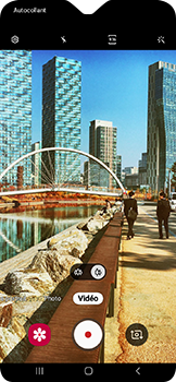 Samsung Galaxy A20e - Photos, vidéos, musique - Créer une vidéo - Étape 11