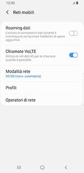 Samsung Galaxy S9 - Android Pie - Rete - Come attivare la connessione di rete 4G - Fase 6