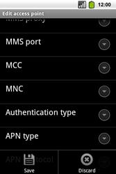 Alcatel OT-991 Smart - MMS - Manual configuration - Step 15