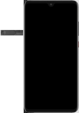 Huawei Mate 20 - Appareil - comment insérer une carte SIM - Étape 2